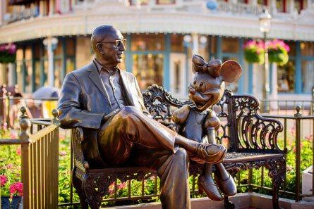 Roy Disney & Minnie Mouse